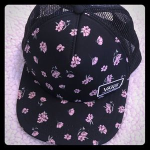 Vans Accessories - Vans Flower Print Hat 9958cc1079e
